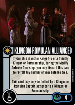 [OP Vorschau] Klingon Civil War - Baiting the Romulans Elite-Talent-KLINGON-ROMULAN-ALLIANCE