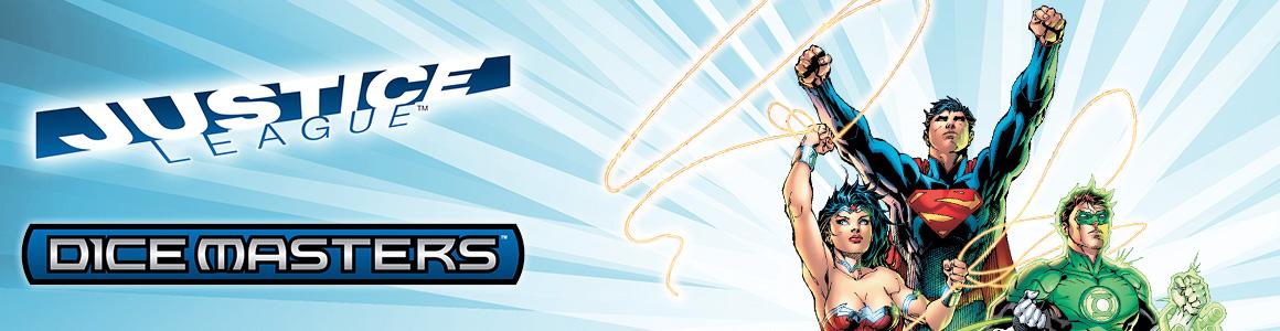 DC Dice Masters: Justice League Header