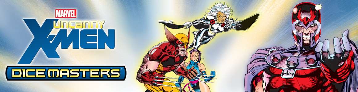 Marvel Dice Masters: Uncanny X-Men Header