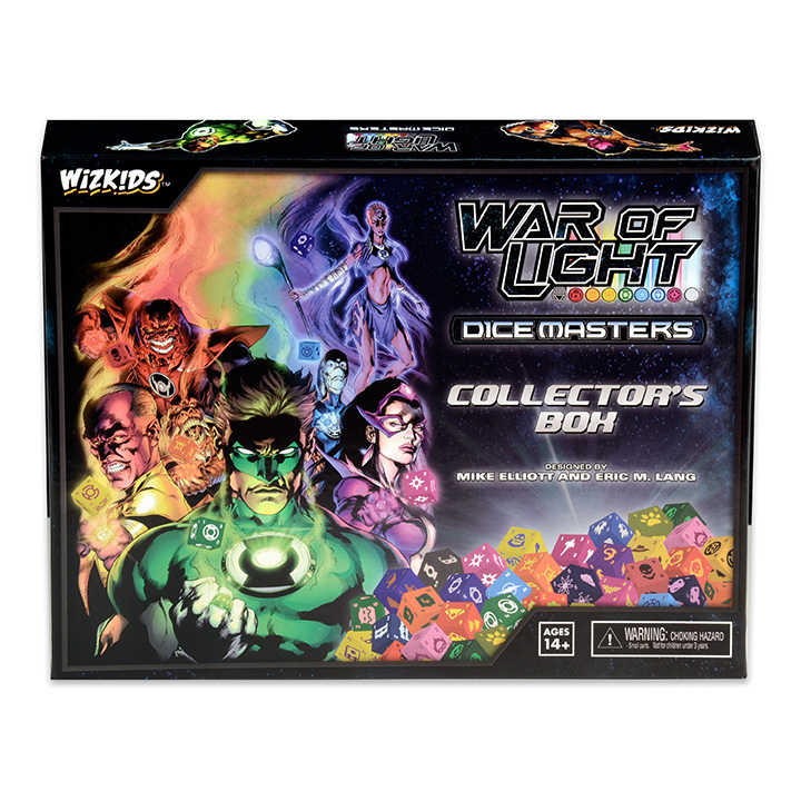 DC Comics Dice Masters: War of Light Play Collector