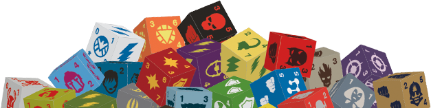 DC Dice Masters: Justice League Dice