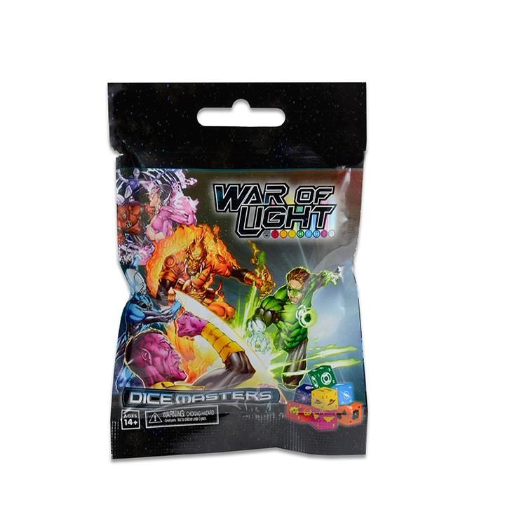 DC Comics Dice Masters: War of Light Foil Pack