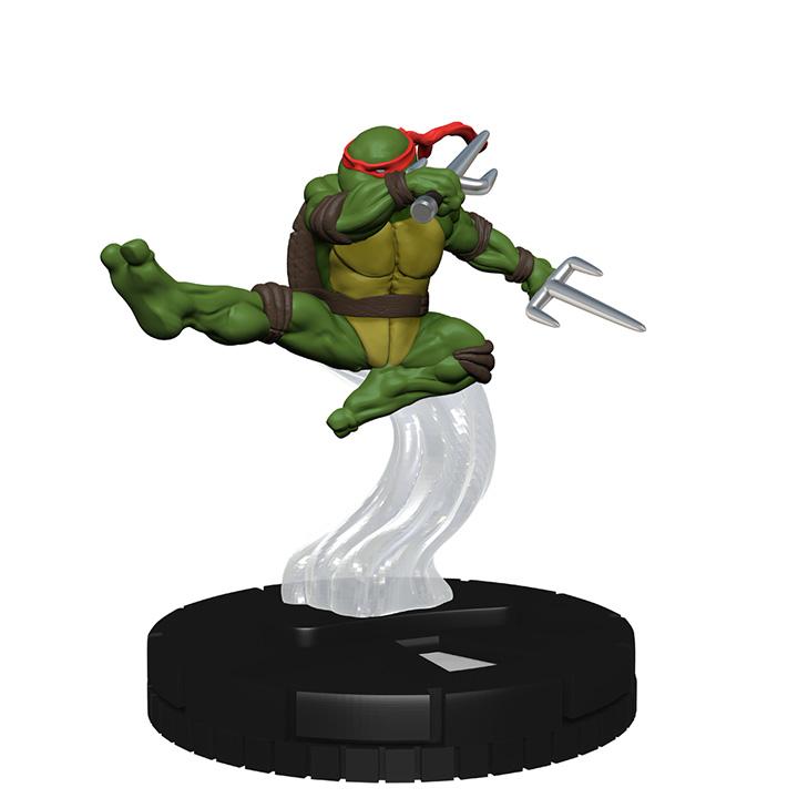 Heroclix TMNT HeroClix Heroes In A Half Shell Raphael 001  Mini w// Card