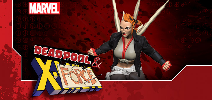 Marvel HeroClix: Deadpool & X-Force - Marrow