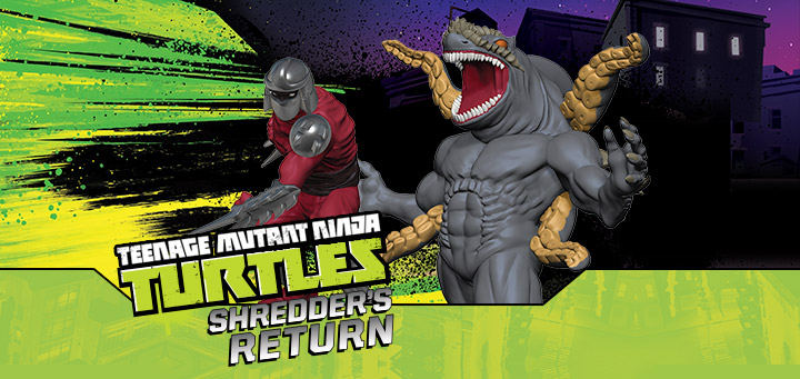 TMNT HeroClix: Shredder's Return - Shredder Clone & Shark Shredder