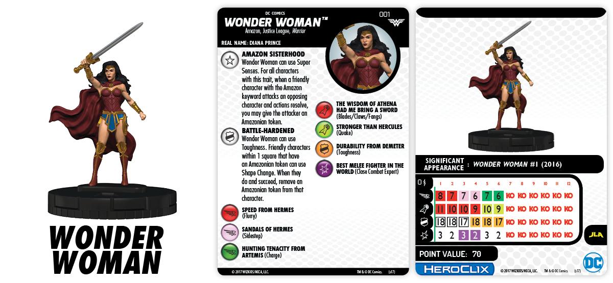 DC HeroClix: Wonder Woman - Wonder Woman