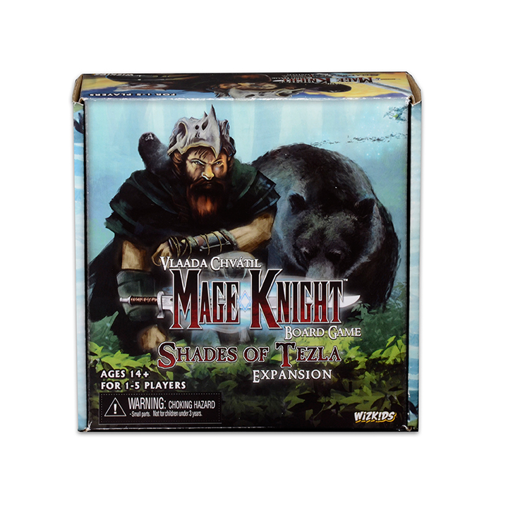 Mage Knight Shades of Tezla Expansion -  Wizkids