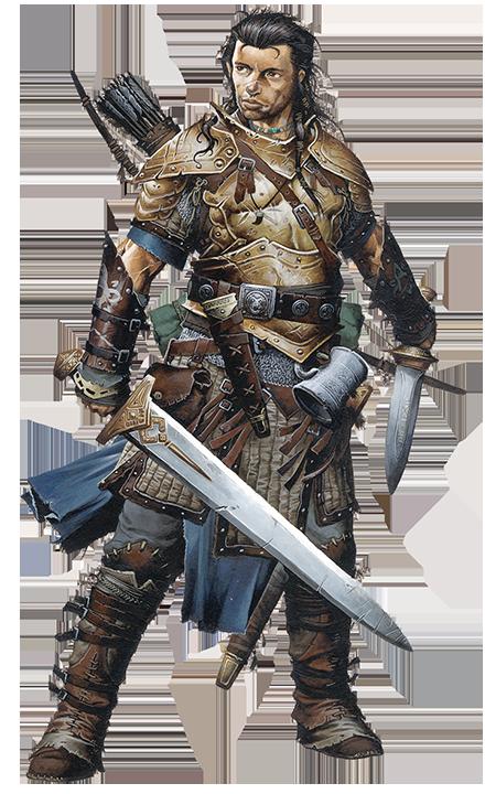 Pathfinder Battles Valeros
