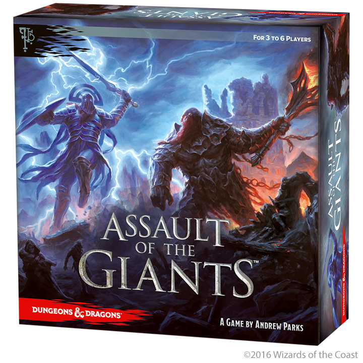 Assault of the Giants: Dungeons and Dragons Boardgame -  WizKids