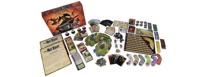 Mage Knight Board Game Components