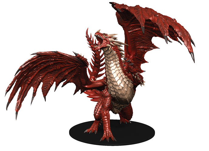Pathfinder Battles Dungeons Deep Gargantuan Red Dragon