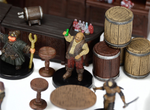 Pathfinder Battles Rusty Dragon Inn