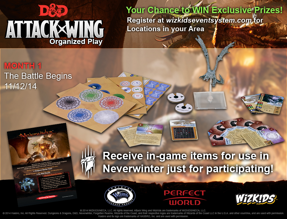 D and d attack wing op prizes