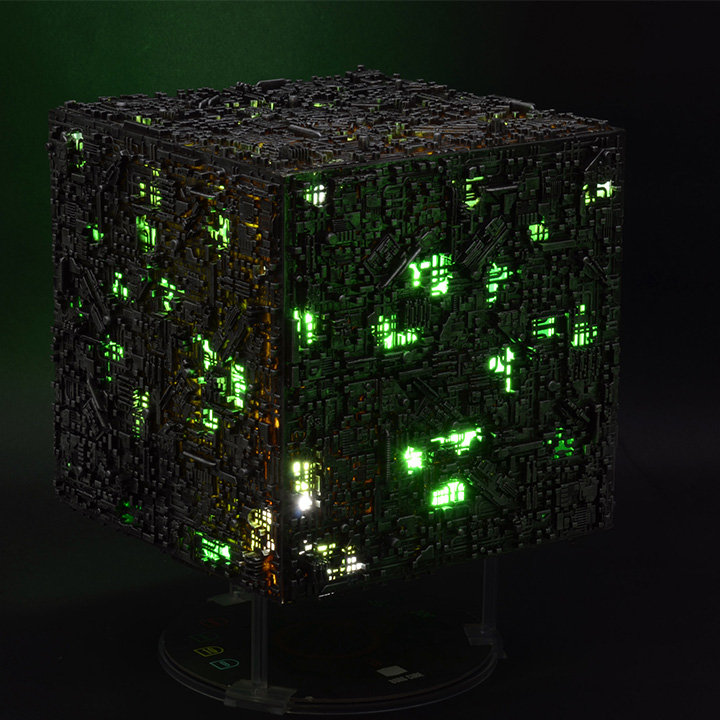 oversize borg cube attack wing
