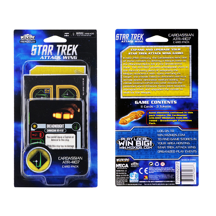 [MINIATURE] Star Trek Attack Wing CardassianPackaging