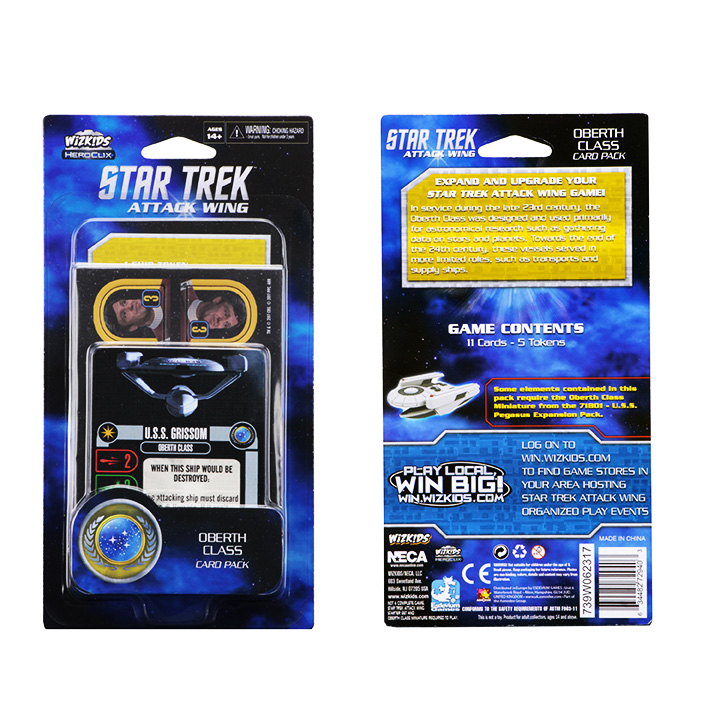 [MINIATURE] Star Trek Attack Wing OberthPackaging