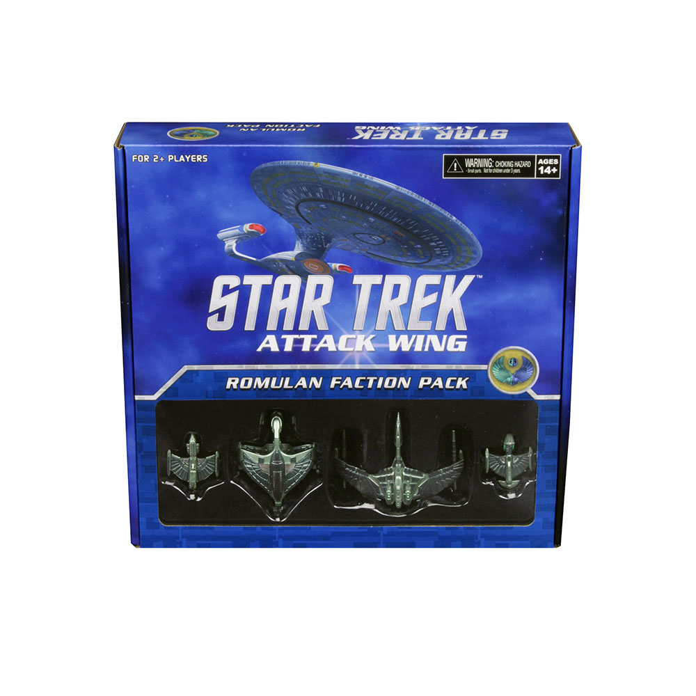 [MINIATURE] Star Trek Attack Wing RomulanFactionPack3