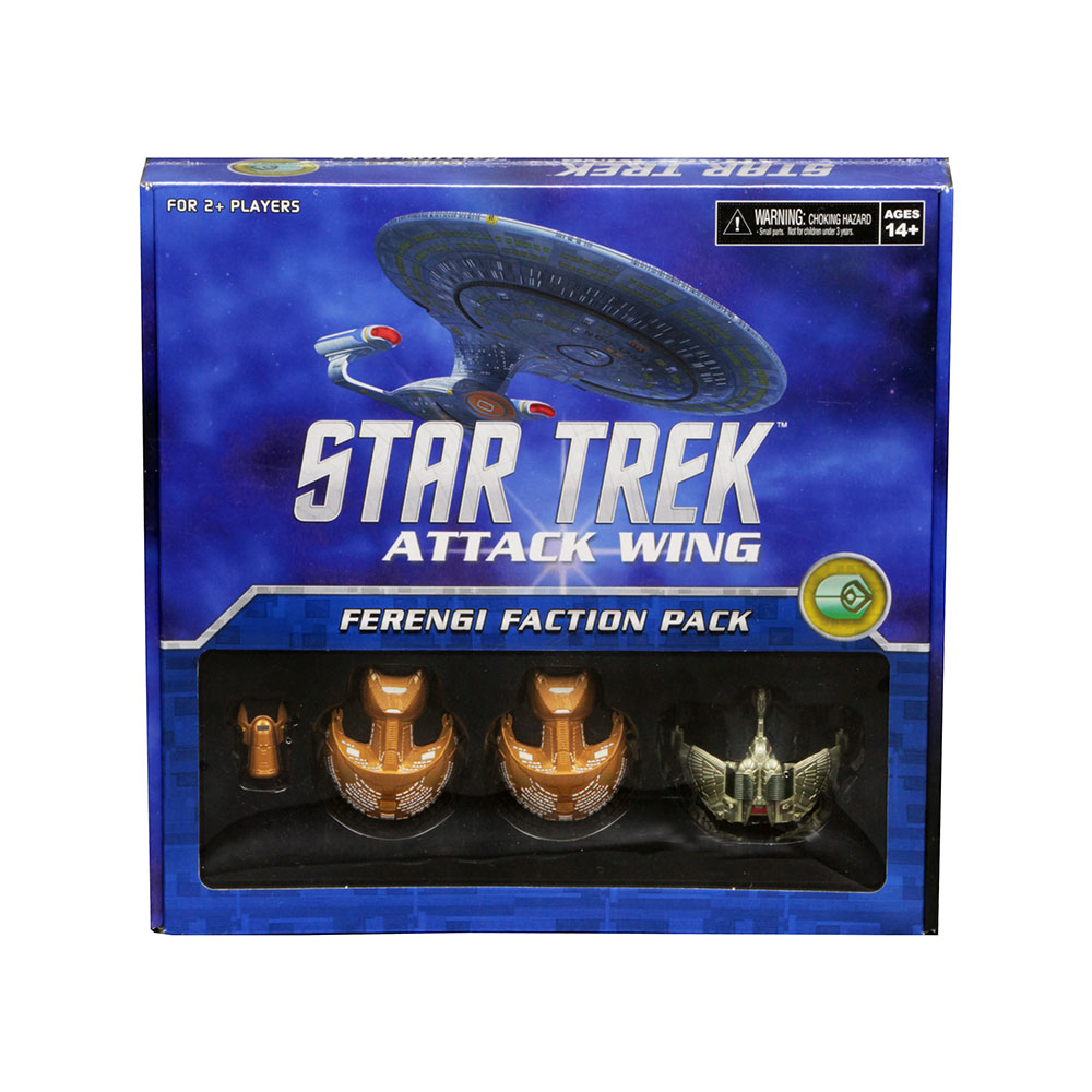 [MINIATURE] Star Trek Attack Wing FerengiFactionPack4