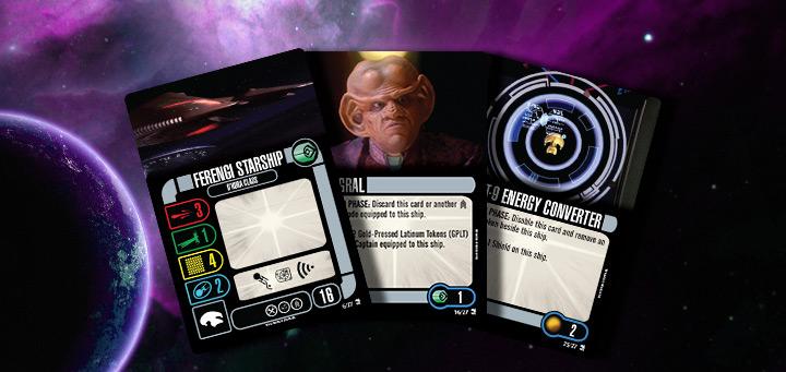 Star Trek Attack Wing-independents faction Pack-ampliación
