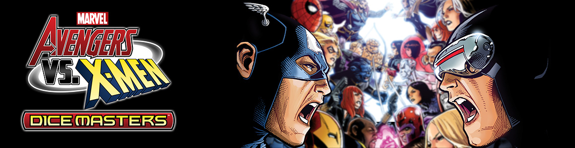 Marvel Dice Masters: Avengers vs. X-Men Header