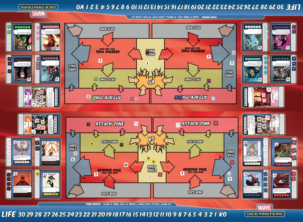 Dice Masters Doubles Format