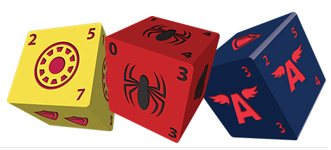 Marvel Dice Masters: Avengers vs. X-Men Dice 2