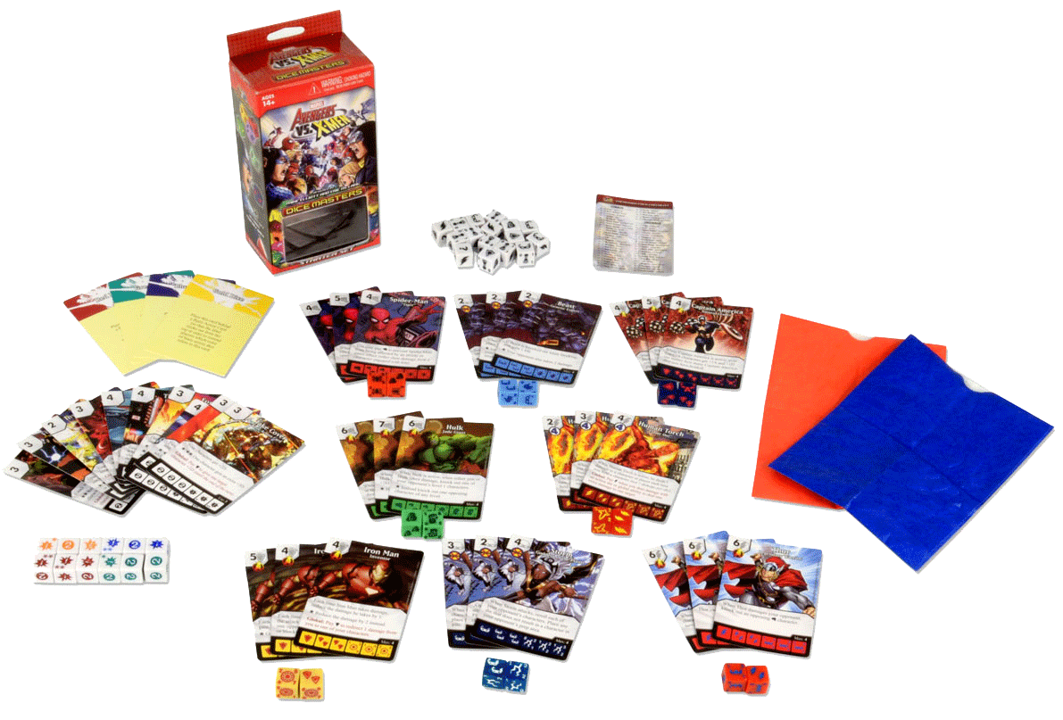 dice men Marvel dice masters: x-men first class features multiple rosters of x-men from xavier's first team, to the giant-size x-men lineup, to the exiles.
