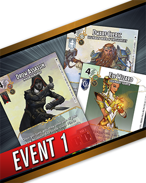 D&D Dice Masters: Batter for Faerun Month One Organized Play Event