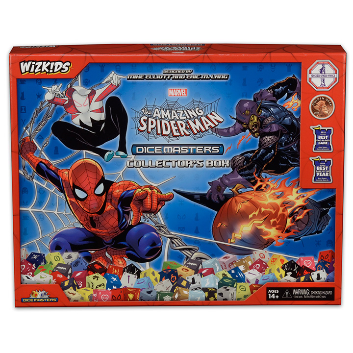 Marvel Dice Masters The Amazing Spider Man Dice Masters