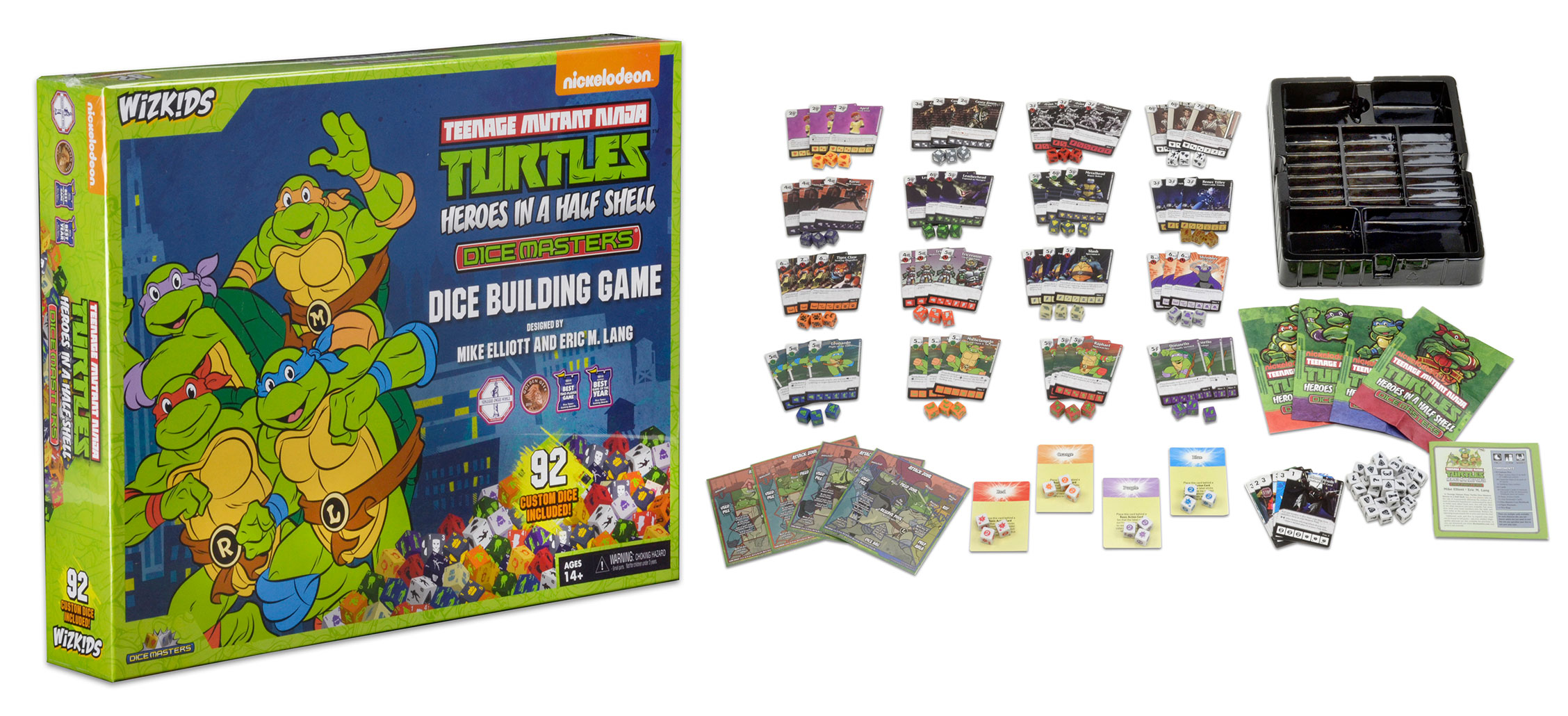 TMNT Heroes in a Half Shell | Dice Masters