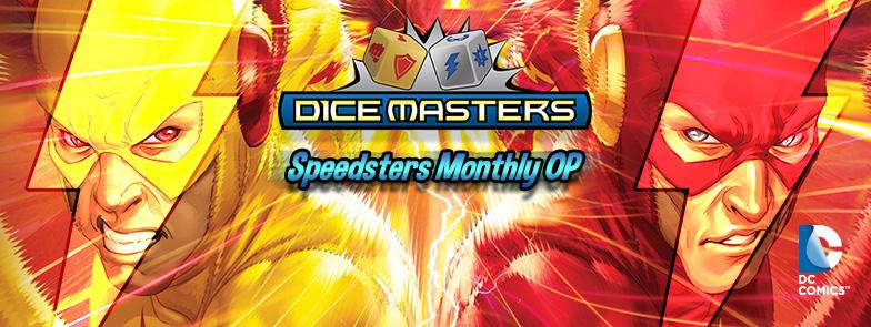 Barry Allen Professor Zoom Dice Masters DC Speedsters Op Kit Jay Garrick