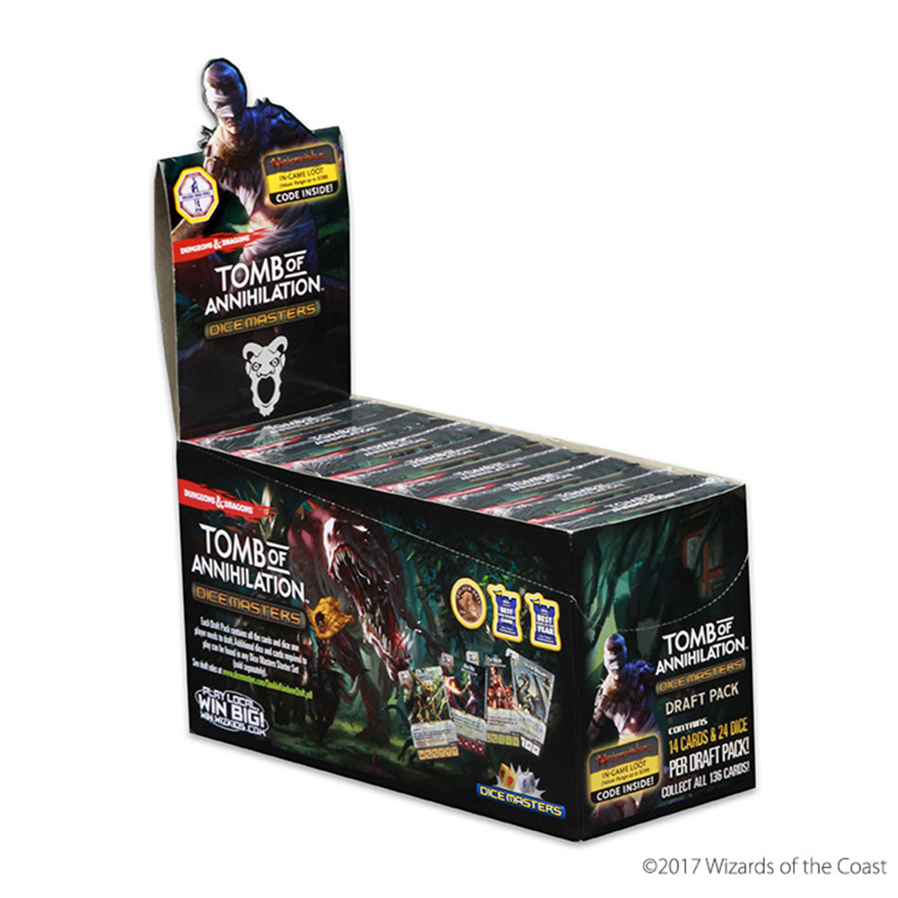 Dungeons & Dragons ToA | Dice Masters