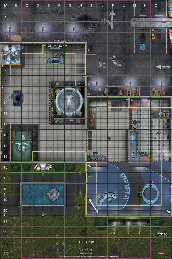 Printable Maps | HeroClix
