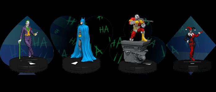 DC COMICS HEROCLIX THE JOKER/'S WILD BOOSTER BRICK 10 COUNT