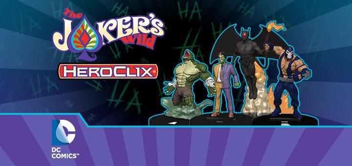 DC Comics HeroClix: The Joker's Wild! – Batman Enemies | HeroClix