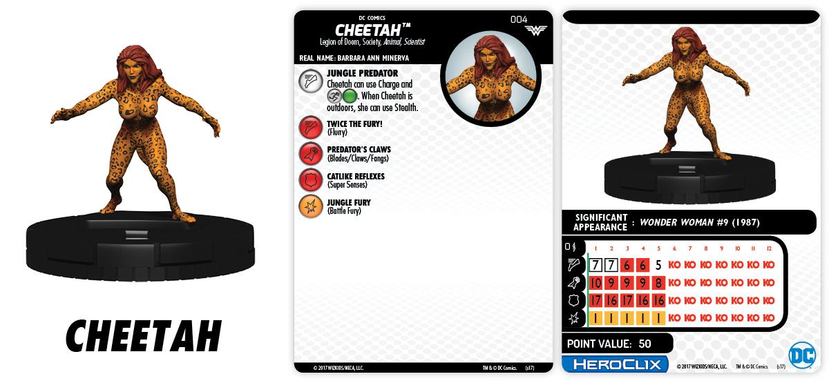 DC HeroClix: Wonder Woman - Cheetah