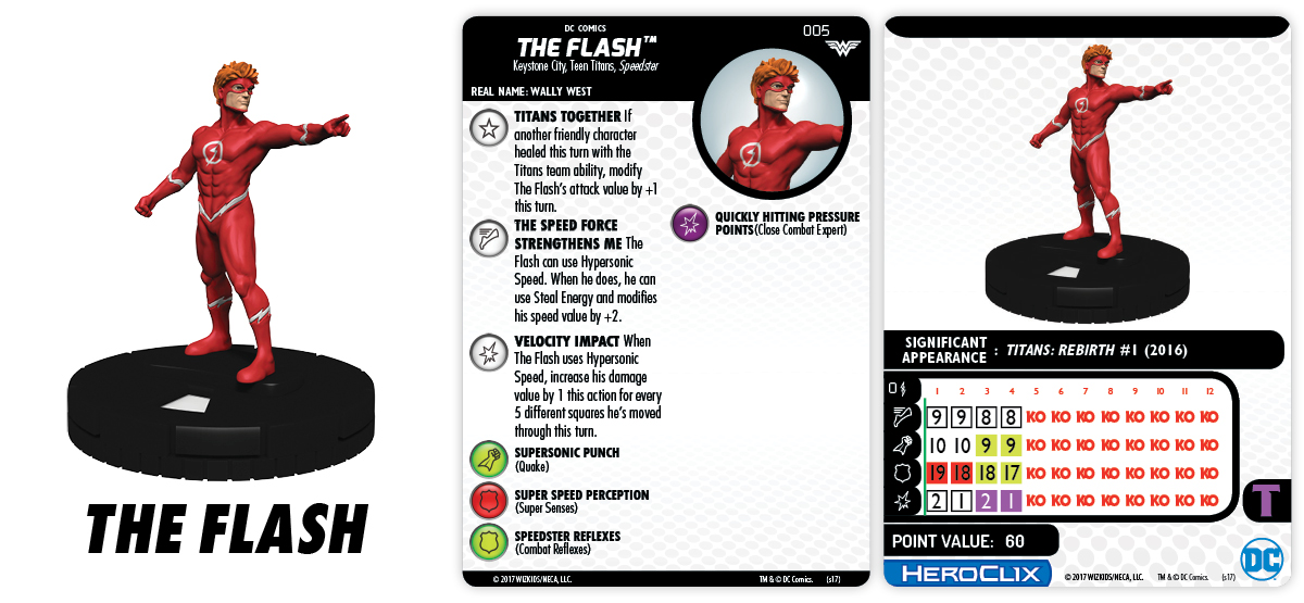 DC HeroClix: Wonder Woman - The Flash