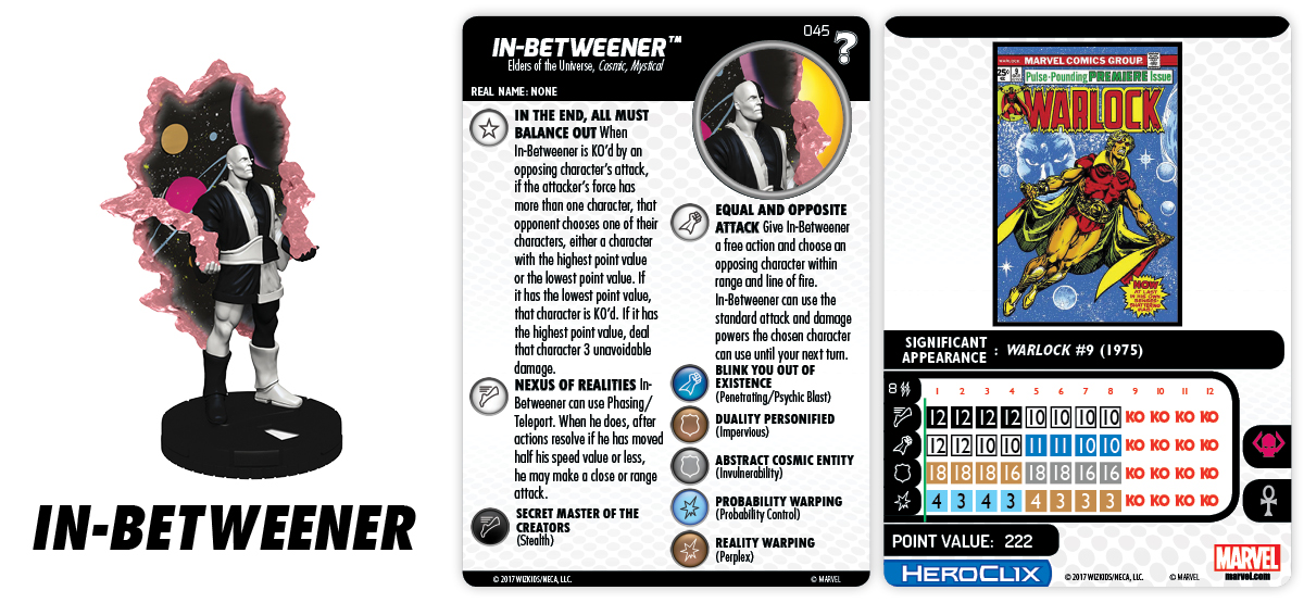 Marvel HeroClix: What If? - In-Betweener