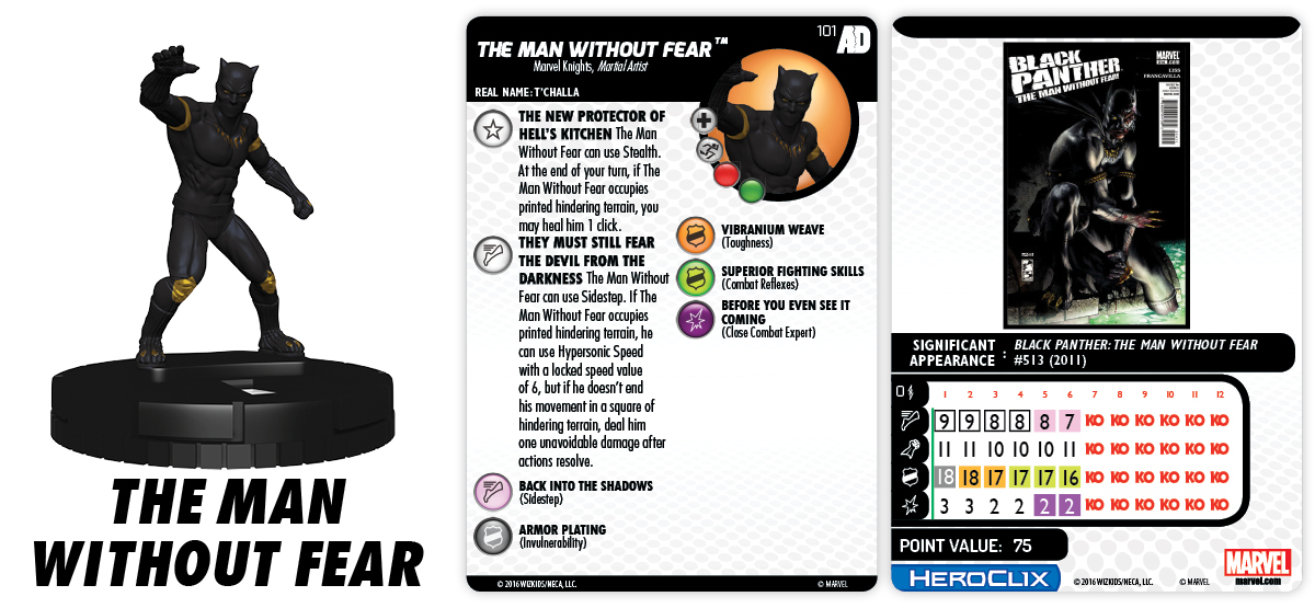 Marvel HeroClix: Avengers/Defenders War - The Man Without Fear