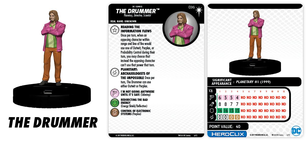 DC Comics HeroClix: Elseworlds - The Drummer