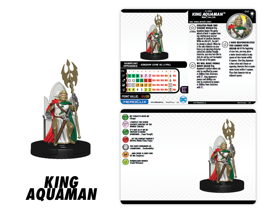 DC Comics HeroClix: Elseworlds - King Aquaman