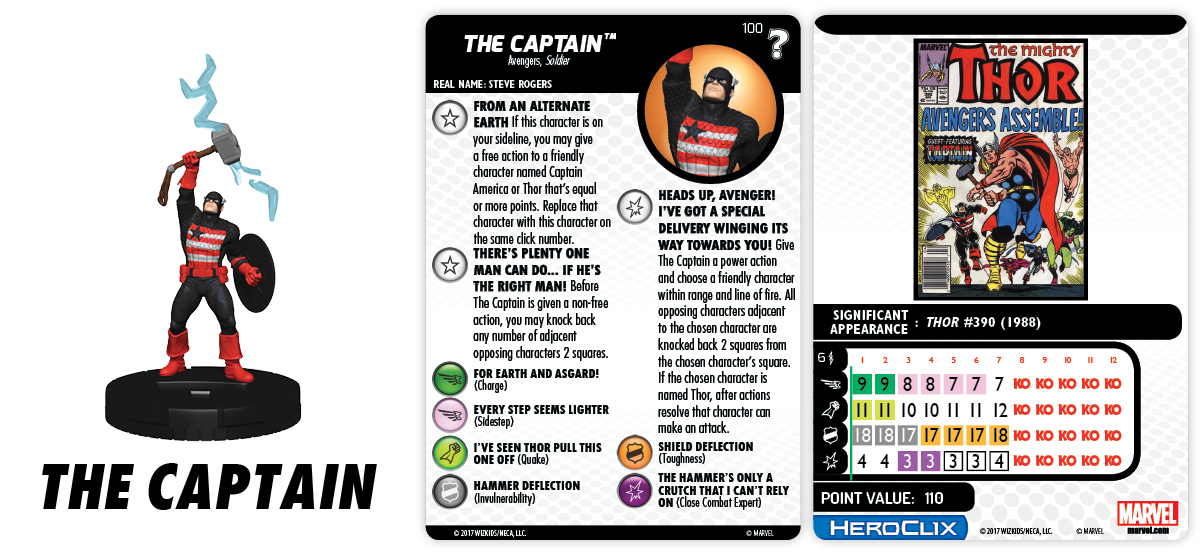 Marvel HeroClix: What If? - The Captain