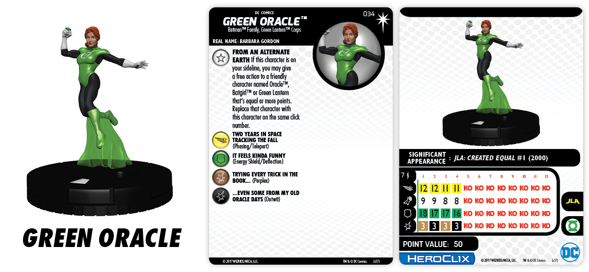 DC Comics HeroClix: 15th Anniversary - Elseworlds - Green Oracle