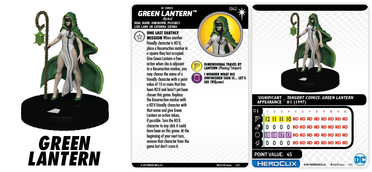 DC Comics HeroClix: 15th Anniversary - Elseworlds - Green Lantern