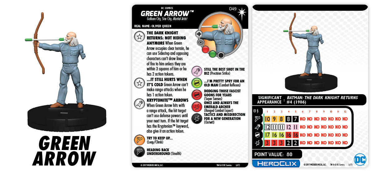 DC Comics HeroClix: Elseworlds - Green Arrow
