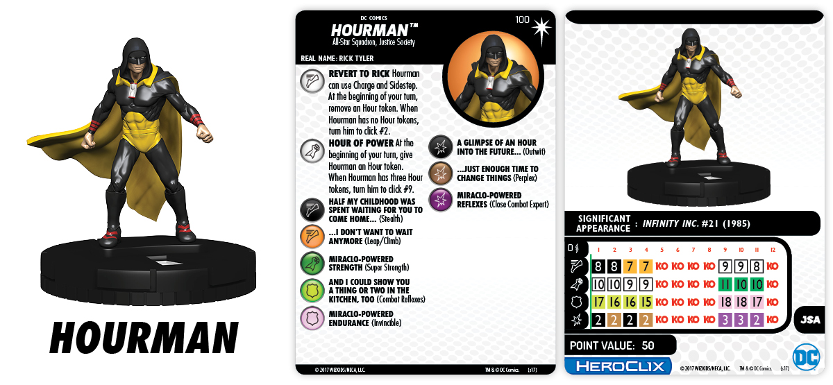 DC Comics HeroClix: Elseworlds - Hourman
