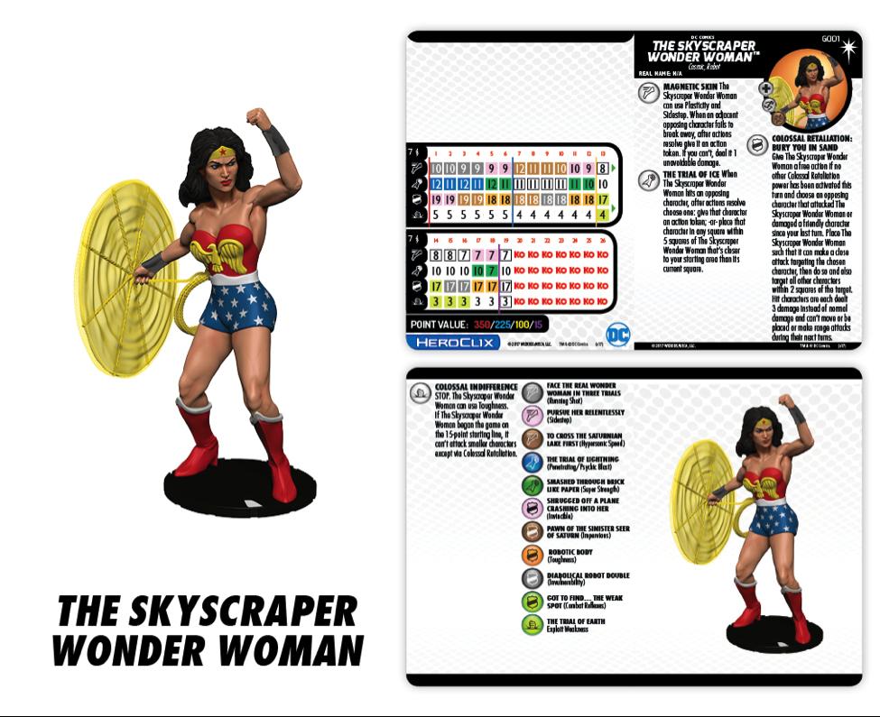 DC Comics HeroClix: Elseworlds - Skyscraper Wonder Woman