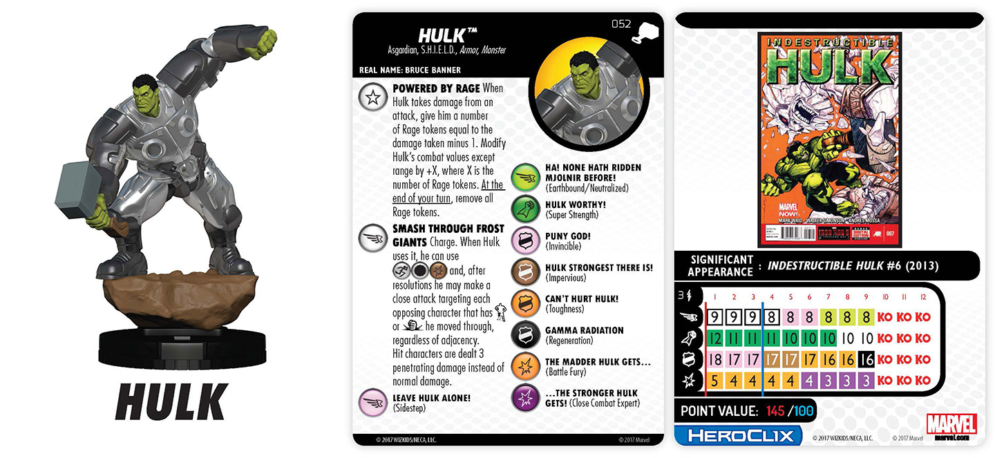 MARVEL HEROCLIX THE MIGHTY THOR #026 ulik