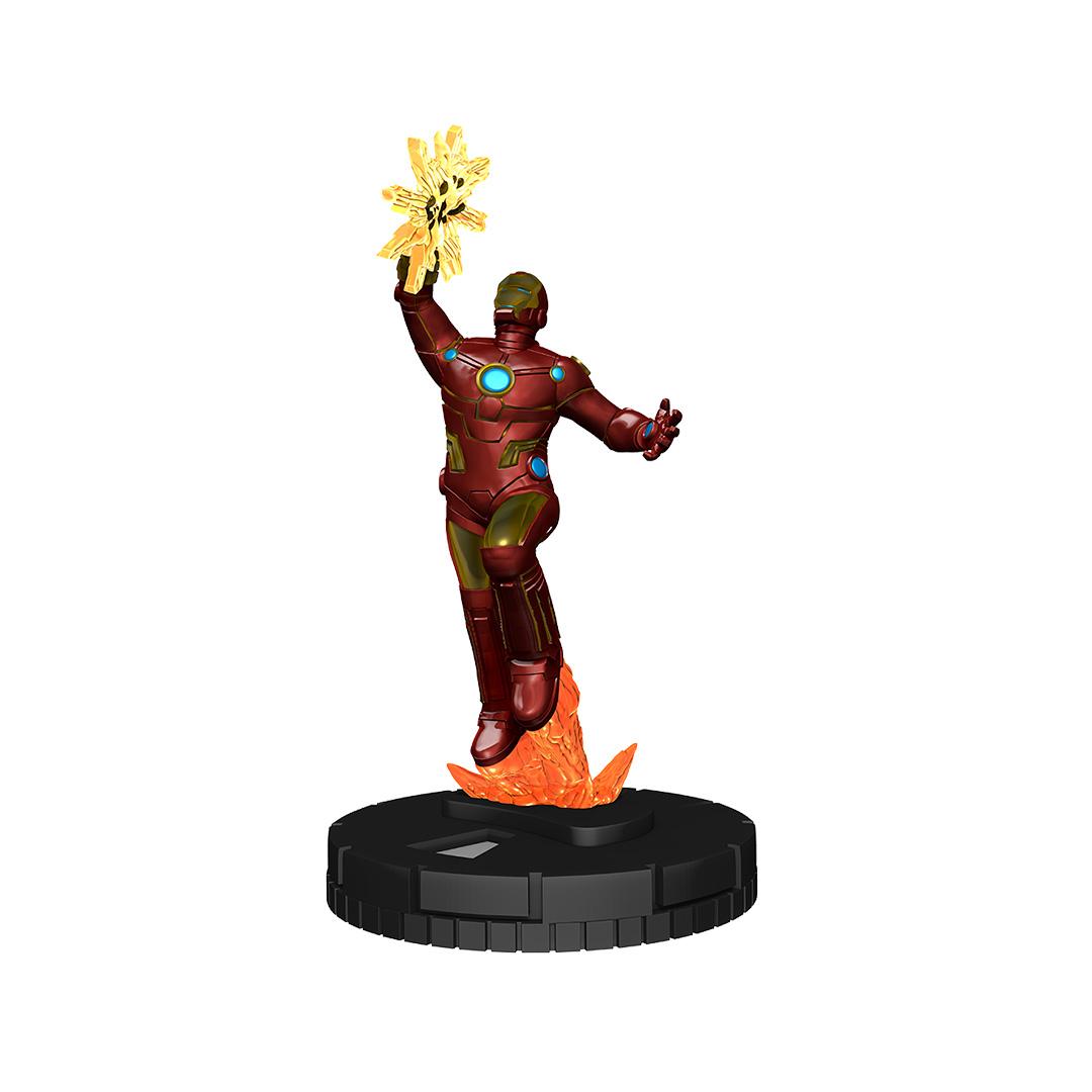 HEROCLIX Avengers Black Panther /& The Illuminati 070 Iron Man