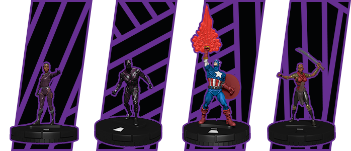 Avenger Black Panther Illuminati Heroclix Dice and Token Pack